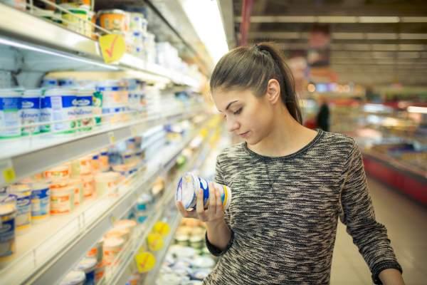 Etikettierung am Produkt