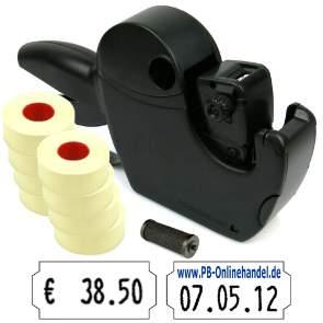 Preisauszeichner Jolly JC8 8-stellig Set 12000+1