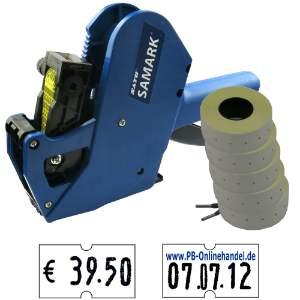 Preisauszeichner Sato Samark SP Herlitz 6-stellig Set-6000