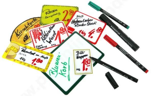 Folienschreiber verschiedene Farben wasserfest