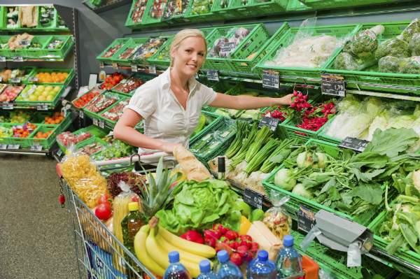 Der Stueckpreis gilt bei vielen Obst- und Gemuesesorten