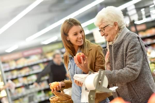 Im Supermarkt werden oft PLU-Nummern vergeben