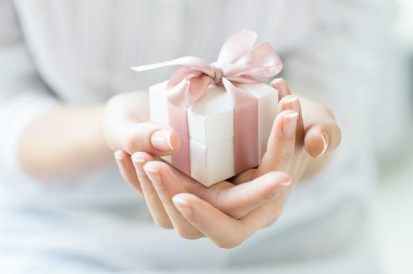 Romantische Geschenkbox