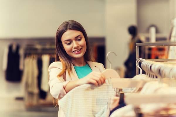 Preisauszeichnung von Textilien