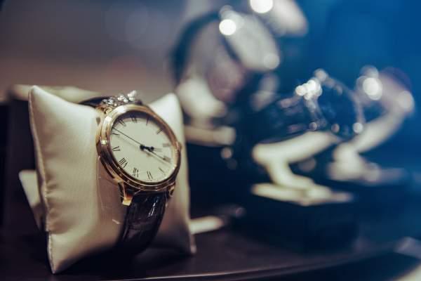 Preisauszeichnung von Uhren