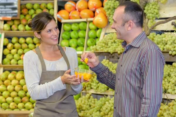 Produktproben und Verkostungen im Einzelhandel