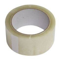 Premium-Packband Paketband leise abrollend transparent 50mm x 66m